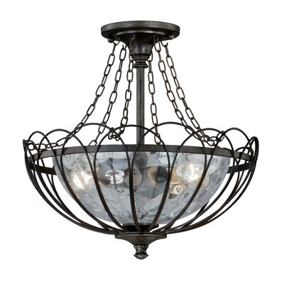 Novara Semi Flush Mount