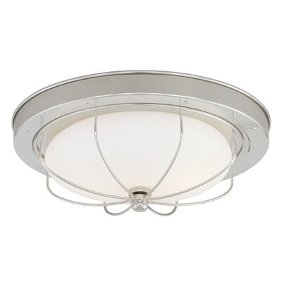 Doyal  Light Flush Mount Size: 4.75 H x 14.25 W