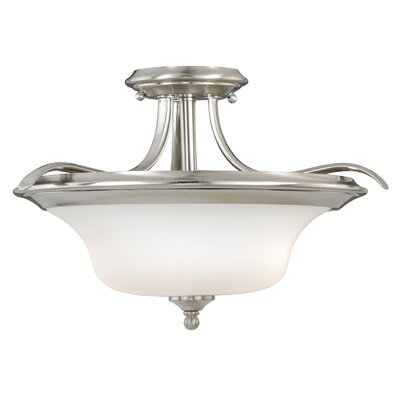 Bryanna 2-Light Semi Flush Mount