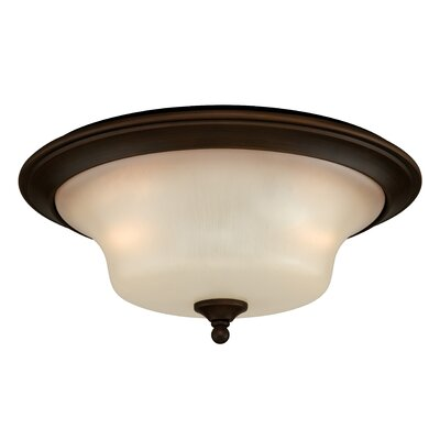 Brust 2-Light Flush Mount