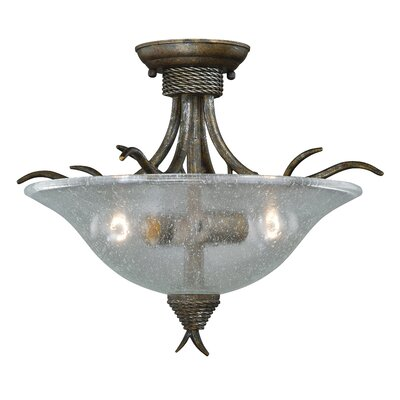 Polzin Semi Flush Mount