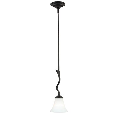 Bruening 1-Light Mini Pendant Color: Noble Bronze