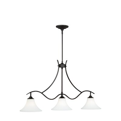 Bruening 3-Light Island Pendant Color: Noble Bronze