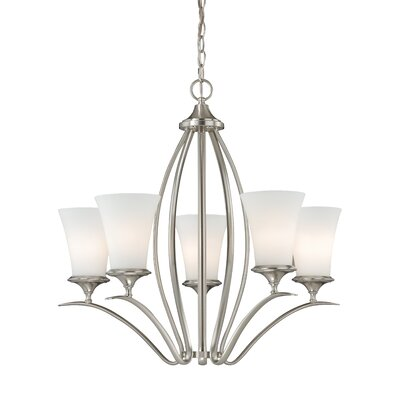 Brunton 5-Light Shaded Chandelier