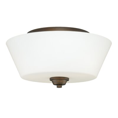 Calais Flush Mount Finish: Venetian Bronze