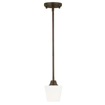 Newlon 1-Light Mini Pendant Finish: Venetian Bronze