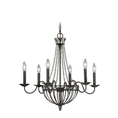 Novara 6-Light Candle-Style Chandelier