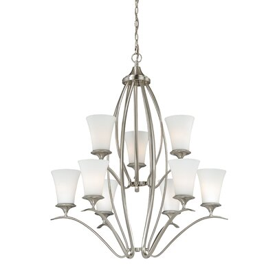 Sonora 9-Light Shaded Chandelier