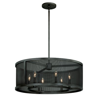 Wicker Park 6-Light Drum Pendant