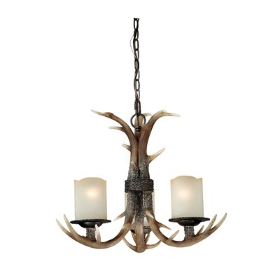 Port Chester 3-Light Candle-Style Chandelier
