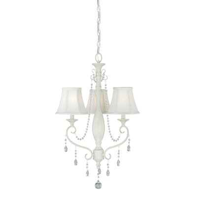 Mccullum 3-Light Shaded Chandelier