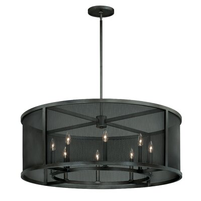 Wicker Park 8-Light Drum Pendant