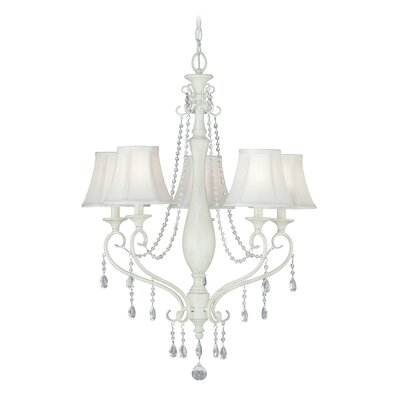 Mccullum 5-Light Shaded Chandelier