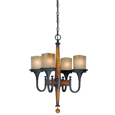 Port Morris 4-Light Candle-Style Chandelier