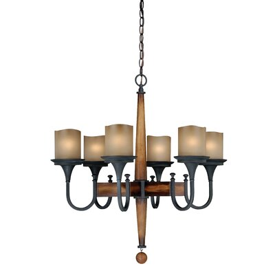 Port Morris 6-Light Candle-Style Chandelier