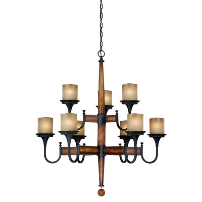 Meritage 9-Light Candle-Style Chandelier