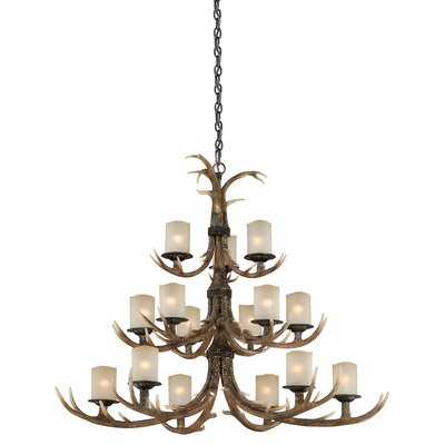 Yoho 15-Light Candle-Style Chandelier