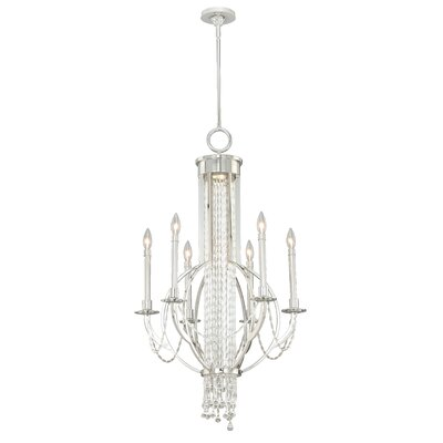 Mccully 6-Light Candle-Style Chandelier