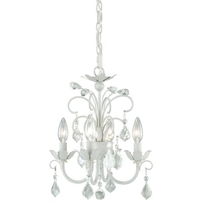 Ellie 4-Light Crystal Chandelier