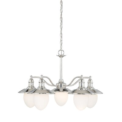 Doyal 5-Light Shaded Chandelier