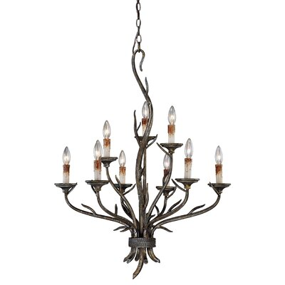 Polzin 9-Light Candle-Style Chandelier