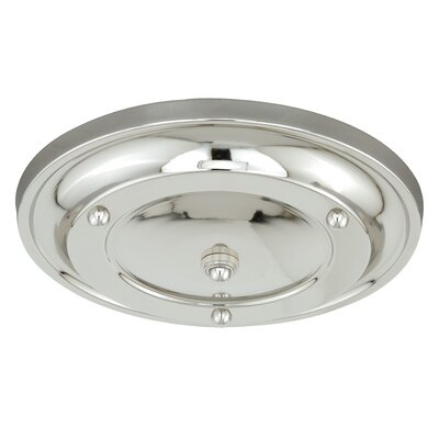 Canopy Kit Multiple Pendant Holder Finish: Satin Nickel, Size: 2.5 H x 15 W