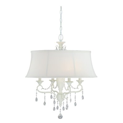 Mccullum 4-Light Drum Chandelier