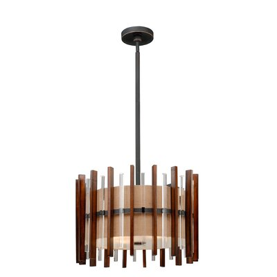 Penland 4-Light Drum Pendant