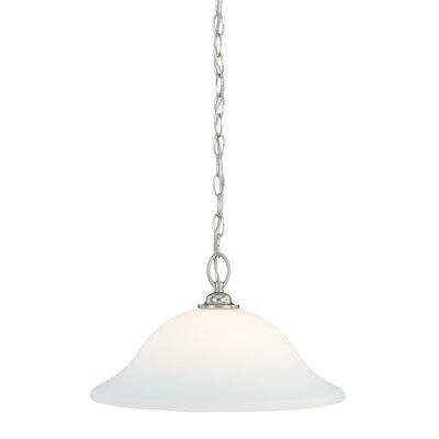 Concord 1-Light Mini Pendant Finish: Satin Nickel