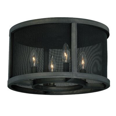 Digirolamo 4-Light Flush Mount