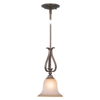 Monrovia 1-Light Mini Pendant Finish: Royal Bronze