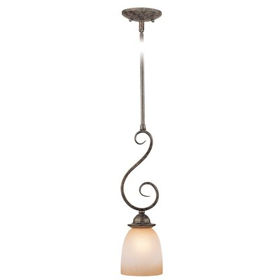 Mont Blanc 1-Light Mini Pendant Finish: Aztec Bronze