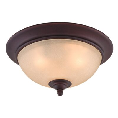 Bourbon Flush Mount Size: 13
