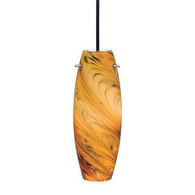 Dominique Modern 1-Light Mini Pendant Shade Color: Milano �Pendant, Size: 3.88 W