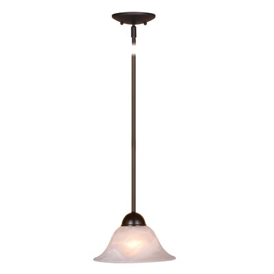 Da Vinci 1-Light Mini Pendant Finish: Oil Burnished Bronze