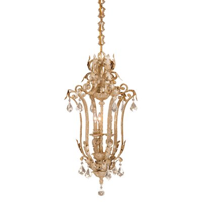 Empire Foyer Pendant Size: 18, Finish: Phoenician Platinum