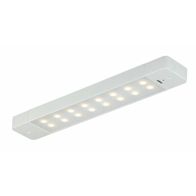 2.63 LED Under Cabinet Bar Light Finish: White