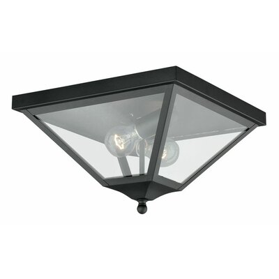 Warlo 2-Light Flush Mount