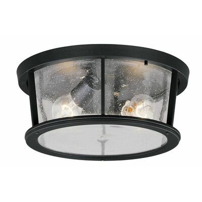 Cascades 2-Light Flush Mount