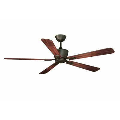 52 Seabrooks Modern 5-Blade DC Ceiling Fan Finish: Oil Rubbed Bronze