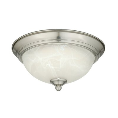 LED Flush Mount Finish: Satin Nickel