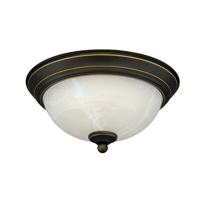 LED Flush Mount Finish: Vintage Bronze