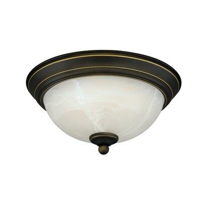 LED Flush Mount Finish: Vintage Bronze