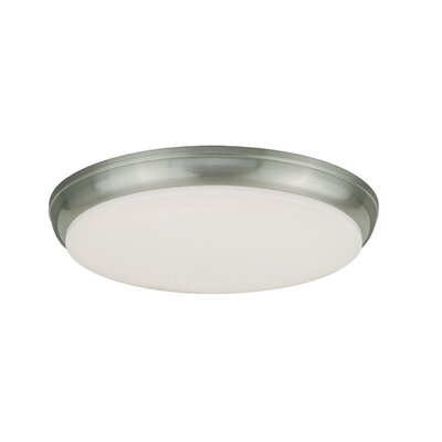 Apollo LED Flush Mount Finish: Satin Nickel