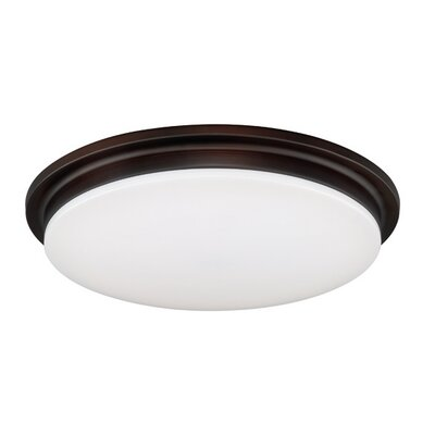 Apollo LED Flush Mount Finish: Bronze