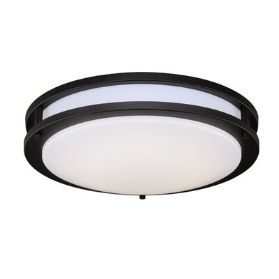 Horizon LED Flush Mount Finish: Oil Burnished Bronze