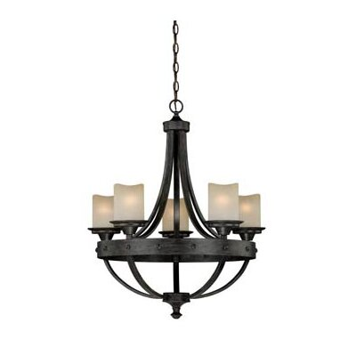 Leonie 5-Light Candle-Style Chandelier