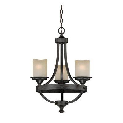 Leonie 3-Light Candle-Style Chandelier