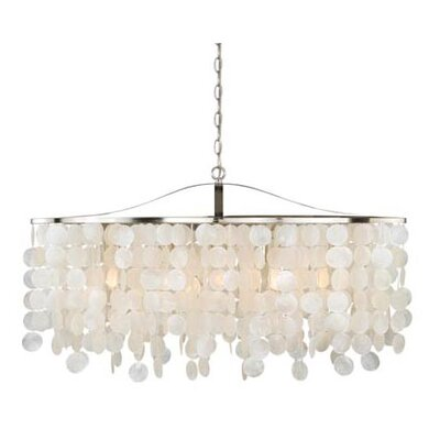 Kym Capiz Shell Kitchen Island Pendant