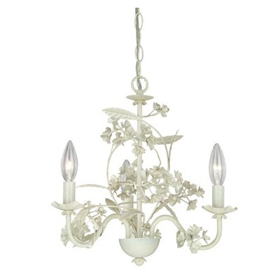 Leilani 3-Light Candle-Style Chandelier